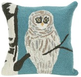 Liora Manné Blue Throw Pillow