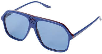 Gucci GG0734S (Blue) Fashion Sunglasses