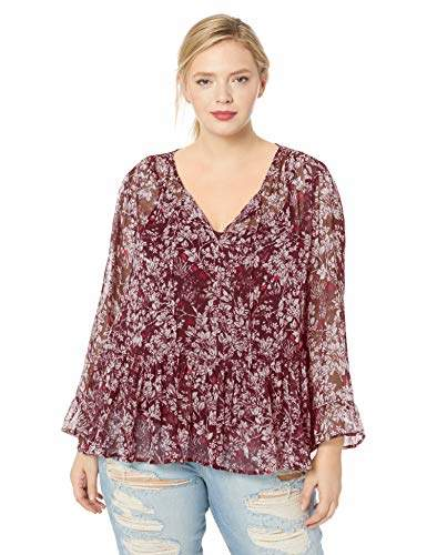 a6be908366b Plus Size Peasant Tops - ShopStyle
