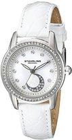 Stuhrling Original Women's 561.01 Countess Analog Display Quartz White Watch