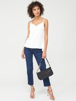Ted Baker Siina Scallop Neckline Cami Top - Ivory