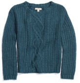 Tucker + Tate Girl's Cable Knit Sweater