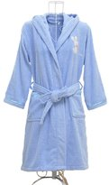 Sunrise Boys and Girls Embroidered Hooded Terry Cotton Bathrobe Robe