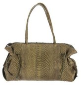 Carlos Falchi Python Shoulder Bag