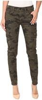 Hudson Colby Ankle Moto Skinny Cargo in Rustic Camo