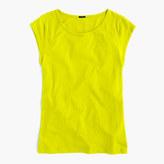 J.Crew Ballet cap-sleeve T-shirt
