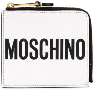 Moschino Logo Zipped Wallet