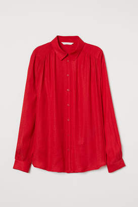 H&M Long-sleeved blouse