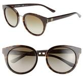 Tory Burch Women's 'Phantos' 53Mm Retro Sunglasses - Tortoise