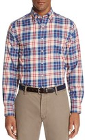 Vineyard Vines Dorchester Plaid Tucker Slim Fit Button-Down Shirt
