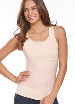 Jockey Womens High Back Scoop Neck Shapewear Tank Shapewear Tanks polyester
