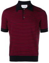 Gucci Striped Cashmere Polo Shirt