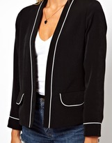 Asos Blazer with Contrast Piping
