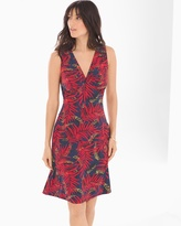 Soma Intimates Sleeveless Isabella Dress Palm