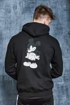 Disney Mickey Back Print Oversized Hoodie