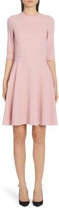 Dolce & Gabbana Stretch Cady A-Line Dress