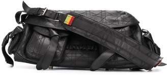 Christian Dior 2010 stitched shoulder bag