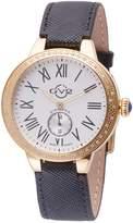 Women's Astor Diamond Leather Strap Watch