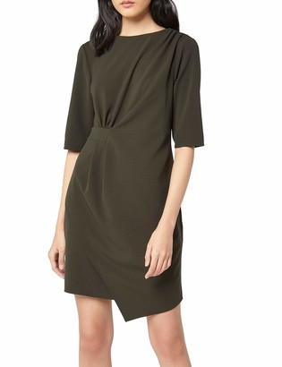 Find. Amazon Brand Women's Drape Hem Shift Dress