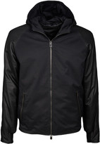 Drome Hooded Leather Jacket