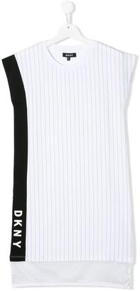 DKNY TEEN straight fit tank dress