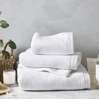 The White Company Ultimate Turkish Cotton Face Cloth, White, Face Cloth