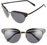 Oliver Peoples Women's 'Josa' 57Mm Cat Eye Sunglasses - Beige