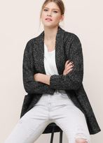Violeta BY MANGO Flecked Wool-Blend Blazer