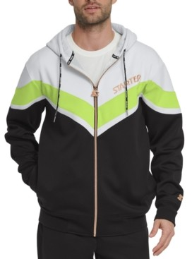 Starter Men's Colorblocked Hooded Windbreaker