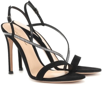 Gianvito Rossi Exclusive to Mytheresa a Manhattan 105 suede sandals