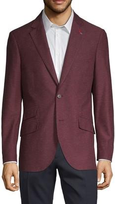 Tailorbyrd Standard-Fit Textured Blazer