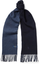 Polo Ralph Lauren Reversible Wool-Blend Scarf