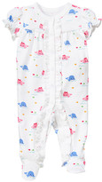 Gymboree Whale Short Sleeve Footed One-Piece