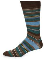 Saks Fifth Avenue Color Popped Stripe Socks
