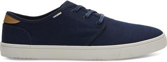 Toms Navy Canvas Men's Carlo Sneakers