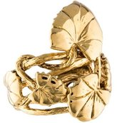 Aurelie Bidermann Lily Pad Ring