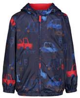 George Car Print Lightweight Hooded Jacket