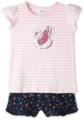 Milkshake Heart Swan Pyjama