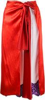 Toga Pulla wrap skirt