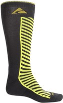 Cabot and Sons Cabot & Sons Diagonal Stripe Ski Socks - Merino Wool, Mid Calf (For Men)