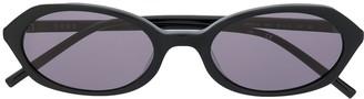 DKNY Polished-Finish Round Frame Sunglasses