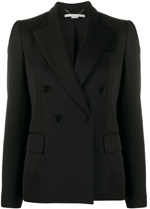 Stella McCartney Double-Breasted Peaked Lapel Blazer