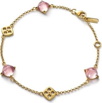 Baccarat Vermeil and Crystal Mini Medicis Bracelet