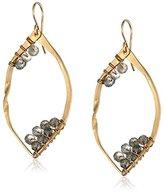 Nashelle Labradorite Cluster Earrings