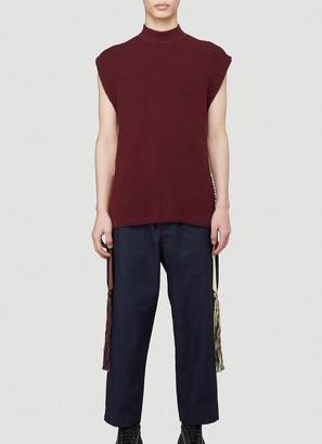 Jil Sander Tassel Knitted Vest
