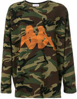 Faith Connexion Kappa camouflage sweatshirt