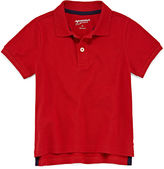 Arizona Short Sleeve Solid Pique Polo Shirt - Toddler