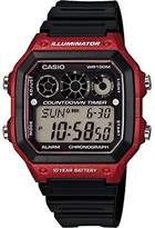 Casio Men's AE1300WH-4AV Classic Digital Referee Timer Watch
