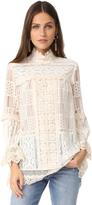 Anna Sui Lace Tunic