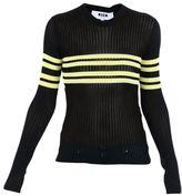 MSGM Striped Detail Sweater